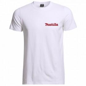 Tričko Makita biele XL