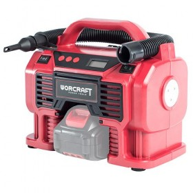 Kompresor Worcraft CAC-S20Li, 20V, 160 Psi, 11 Bar, LED svetlo