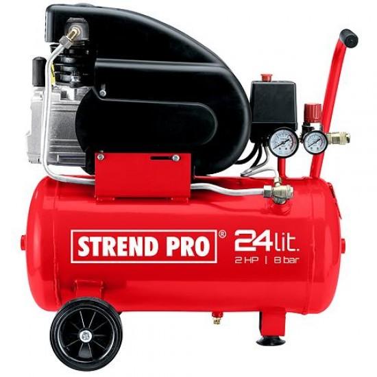 Kompresor STREND PRO FL2024-08, 1,5 kW, 24 lit